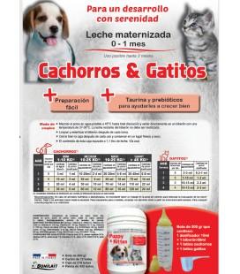 LECHE MATERNIZADA CACHORROS & GATITOS